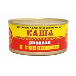 26227 Каша рисов. с говядиной  325гр/36шт Й-Ола