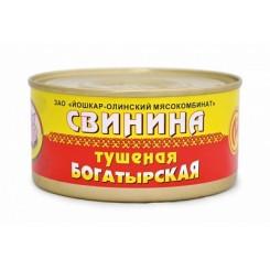32939 Свинина тушеная богатырская  325гр/36шт Й-Ола