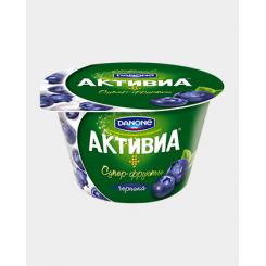 Йогурт Активиа 210 черника