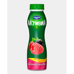 Йогурт Активиа пит 290 лесные ягоды