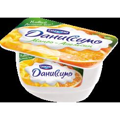 Мягкий творог Даниссимо 130 Манго-апельсин*8