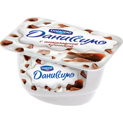 Мягкий творог Даниссимо 130 Шоколад Браво*8