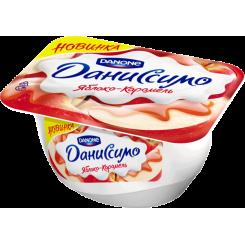 Мягкий творог Даниссимо 130 Яблоко Карамель*8